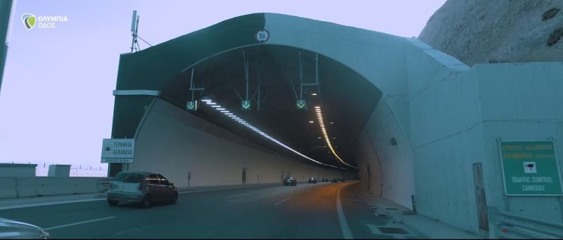 Upgrading of the Patras Bypass Tunnels – installation of LED lighting