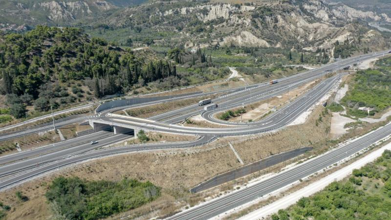 The new Lykoporia Interchange is opened to traffic