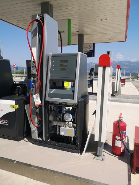 Natural Gas for the first time on a Greek motorway