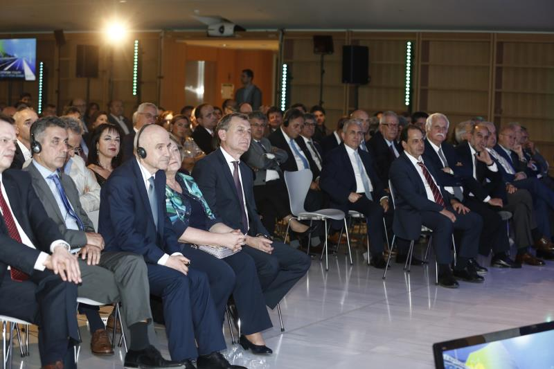 1st June 2018, Stavros Niarchos Foundation Cultural Centre, Εvent for the completion of the motorway
