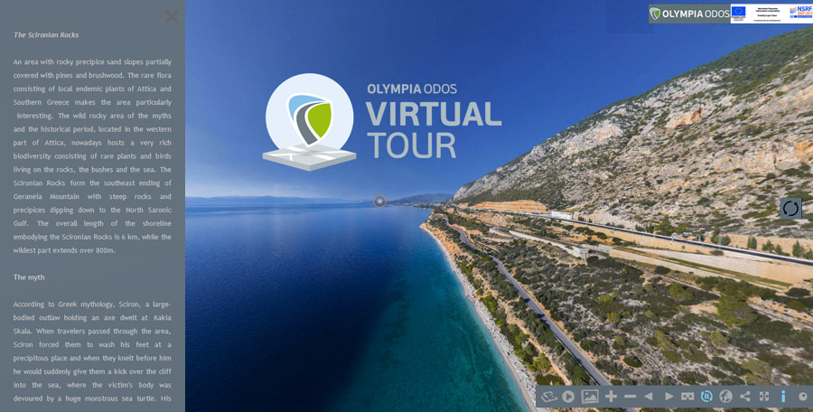 OLYMPIA ODOS Virtual Tour VR 360